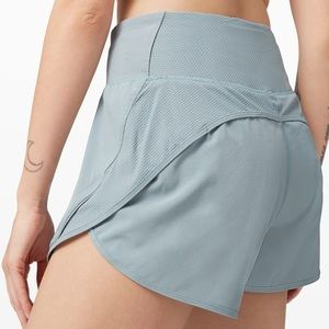 "Run Off Route Shorts 4"" High Rise"